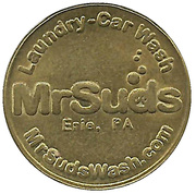25 Cents -  Mr Suds (Erie, Pennsylvania) – obverse