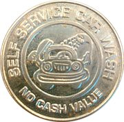 25 Cents Wash Token - Self Service Car Wash – obverse