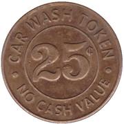 25 Cents Wash Token - Big Splash (Saint Paul) – reverse