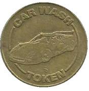 Car Wash Token - No Cash Value (Sports Car / Eagle) -  obverse