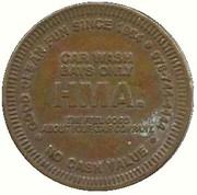 1 Dollar - HMA. Car Wash (Salem, Massachusetts ) – obverse