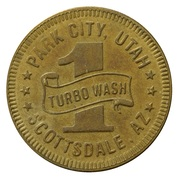 Car Wash Token - Buggy Bath (Park City, Utah) – reverse