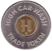 1 Dollar Trade Token - High Car Wash (Lititz, Pennsylvania) – obverse