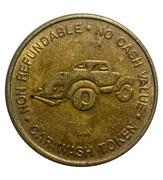 Token - Quality Car Wash (Fairless Hills, Pennsylvania) -  obverse