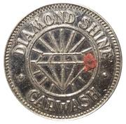 1 Dollar Carwash Token - Diamond Shine Carwash (Cumberland, Maryland) – obverse