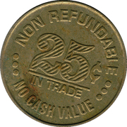 25 Cents - Nicollet Self Service (Minneapolis, Minnesota) – reverse
