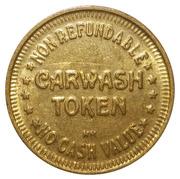 Token - Carwash Token (Brass, 25mm, HM) – obverse