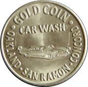 1 Dollar Carwash Token - Gold Coin Car Wash (Oakland, California) – obverse