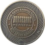 5 Cent Gaming Token - Horseshoe Hammond Inc. (Hammond, Indiana) -  obverse