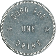 1 Drink - Ralph's Tavern (Santa Rosa, California) -  reverse