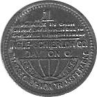 1 Cent - Leevale Collieries Inc. -  obverse