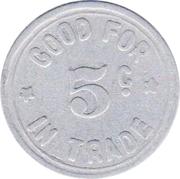 5 Cents - C. Johnson (Merna, Nebraska) -  obverse