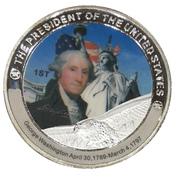 Token - George Washington (1st President) -  obverse