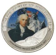 Token - James Madison (4th President) -  obverse