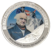 Token - Martin Van Buren (8th President) -  obverse