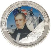 Token - William Henry Harrison (9th President) -  obverse