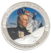 Token - John Tyler (10th President) -  obverse