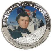 Token - Franklin Pierce (14th President) -  obverse