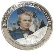 Token - Andrew Johnson (17th President) -  obverse