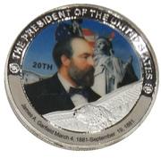 Token - James A. Garfield (20th President) -  obverse