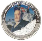 Token - Benjamin Harrison (23rd President) -  obverse