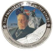 Token - William Howard Taft (27th President) -  obverse