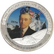 Token - Woodrow Wilson (28th President) -  obverse