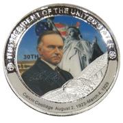 Token - Calvin Coolidge (30th President) -  obverse