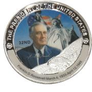 Token - Franklin D. Roosevelt (32nd President) -  obverse