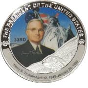 Token - Harry S. Truman (33rd President) -  obverse
