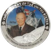 Token - Dwight D. Eisenhower (34th President) -  obverse