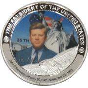 Token - John F. Kennedy (35th President) -  obverse
