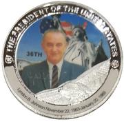 Token - Lyndon B. Johnson (36th President) -  obverse