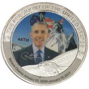 Token - Barack Obama (44th President) -  obverse