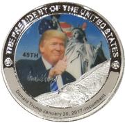 Token - Donald Trump (45th President) -  obverse