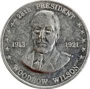 Token - Shell's Mr. President Coin Game (Woodrow Wilson) -  obverse