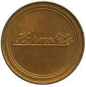 Token - Antique Car Coin Collection (Hupmobile Series 32) -  reverse