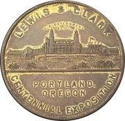 So-Called Dollar - Lewis and Clark Centennial Exposition -  obverse