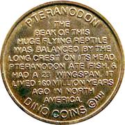 Token - Dino Coins (Pteranodon) -  obverse