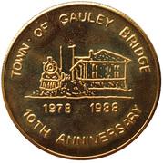 Token - 10th Anniversary Gauley Bridge (Gauley Bridge, West Virginia) -  obverse