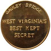 Token - 10th Anniversary Gauley Bridge (Gauley Bridge, West Virginia) -  reverse