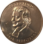 Medal - First Spouse (Betty Ford) -  obverse
