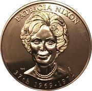 Medal - First Spouse (Patricia Nixon) -  obverse