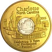 1 Dollar - Charlotte (North Carolina) -  obverse