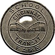 School Fare - Cincinnati Transit (Cincinnati, Ohio) -  reverse