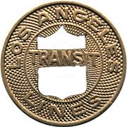1 Fare - Los Angeles Transit Lines (Los Angeles, California) -  obverse