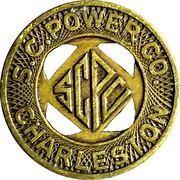 1 Fare - S.C. Power Co. (Charleston, South Carolina) -  obverse
