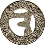 1 Fare - San Antonio Public Service Co. (San Antonio, Texas) -  reverse