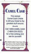 Camel Cash 1C – reverse