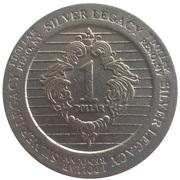 1 Dollar - Silver Legacy (Reno, Nevada) – reverse